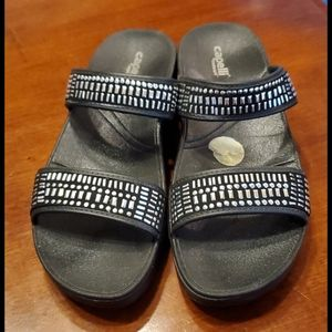 Capelli wedge platform sandals